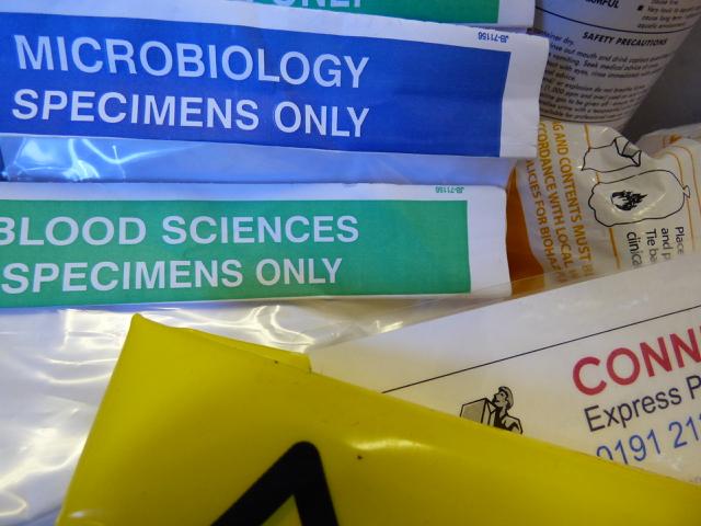 Microbiology, Blood Sciences, Plasma Express Service