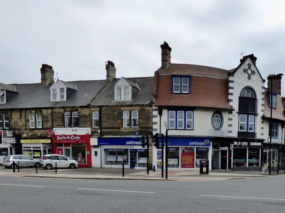on demand delivery stands the test of time. Corner of Church Road in Gosforth site of the first post office
